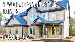 Craftsman Style New Construction Homes In Dacula, GA