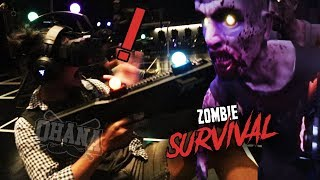 OHANA: บุกเล่นเกมส์ Zero Latency VR Zombie Survival !!!🔥🔥🔥