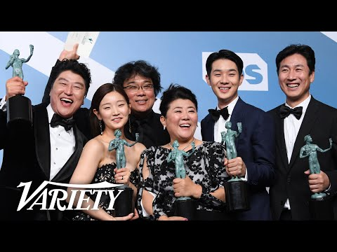 SAG Awards : Bong Joon Ho & the 'Parasite' Cast Make History