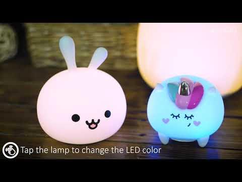 Naktslampa InnoGIO GIOKitty Midi Night Light LJC-101