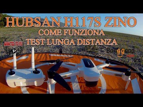 RECENSIONE TUTORIAL HUBSAN ZINO H117S