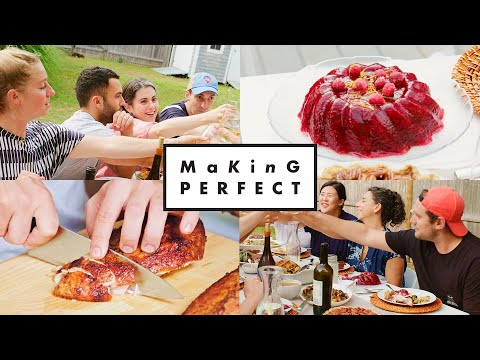 The BA Test Kitchen Makes the Perfect Thanksgiving Meal | Making Perfect: Thanksgiving Finale