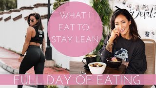 What I Eat To Stay Lean When Traveling + Leg Workout (Marbella VLOG)