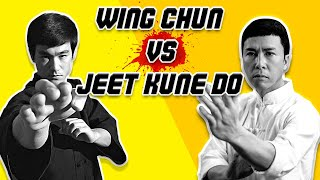Wing Chun vs Jeet Kune Do Techniques