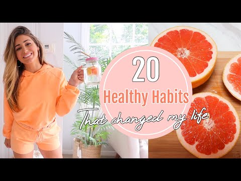 20 HEALTHY HABITS THAT CHANGED MY LIFE // Health food haul!
