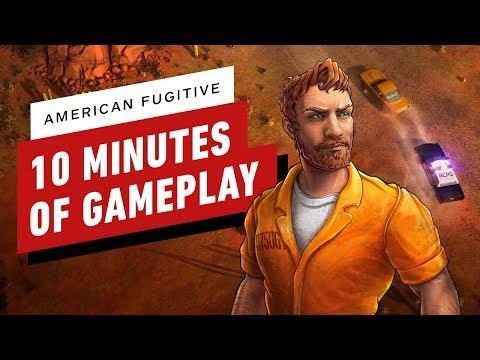 Gameplay de American Fugitive