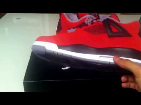 "Air Jordan 4 ""Toro Bravo"" Review ❤☎⏰"