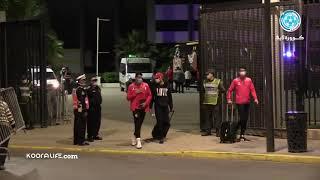 بهذه الطريقة غادر لاعبو الواد الرياضي مركب محمد الخامس بعد الفوز على المحمدية برباعية