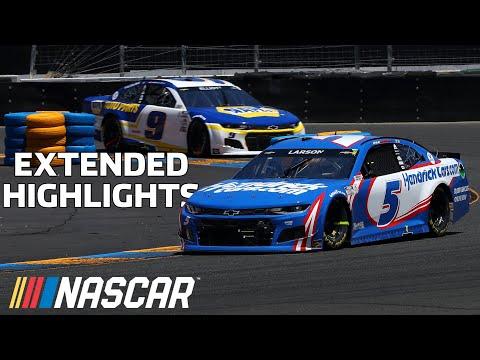 NASCAR トヨタ/セーブマート350(ソノマ・レースウェイ)ハイライト動画