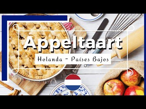 Appeltaart Holanda - Tarta de manzana holandesa