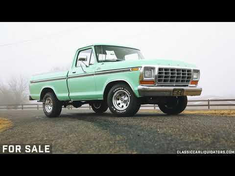 Video of '79 F100 - M5SY