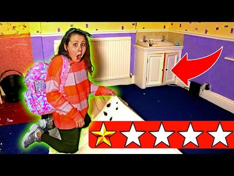 Staying At The Worst Reviewed Hotel In My City (3AM Challenge)