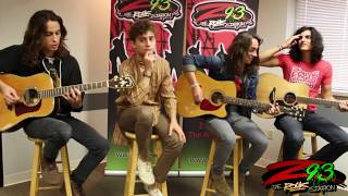 Greta Van Fleet Performs 'You're The One' In The Z93 Studios
