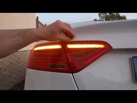 Audi A5 Dynamischer Blinker / Dynamic blinker Taillights switch on off