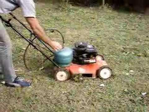 cortadora a gas