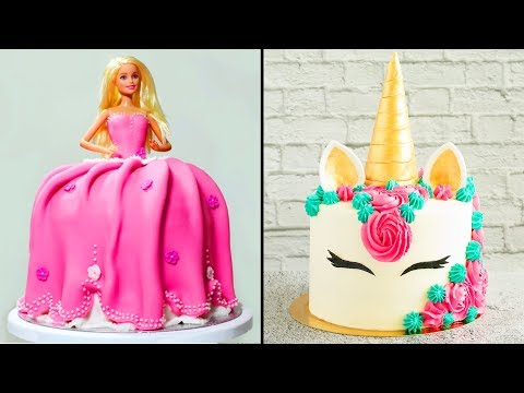 DIY Amazing Birthday Cake Ideas Compilation and More Yummy Desserts by Hooplakidz Recipes