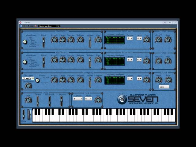 Seven by Bluenoise Plugins