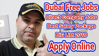 Dubai Direct Company Jobs | Best Jobs In Dubai | Apply Online