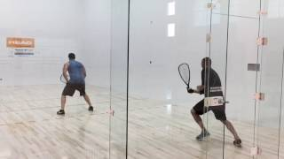 Rocky Carson Gives Tips on Racquetball Shot Selection