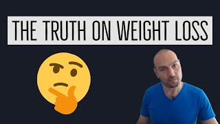How Weight Loss Works: Calories, Diets, Exercise, Patience, Strength Training, Cardio, Physique
