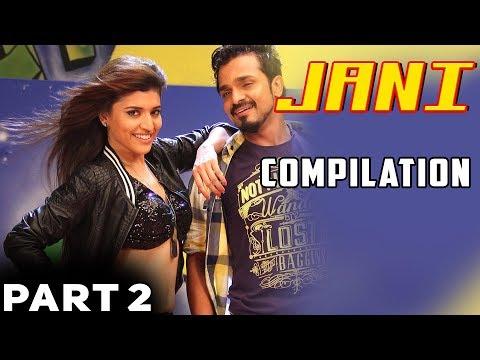 Jani - Hindi Dubbed Movie | Compilation part 2 | Vijay Raghavendra | Milana Nagaraj | Janani Anthony