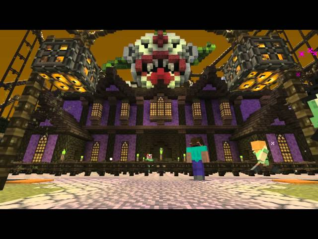 Minecraft | Halloween DLC trailer | PS4, PS3, PS Vita