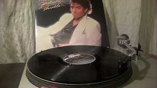 Michael Jackson   Thriller (Full Album   LP Vinyl)
