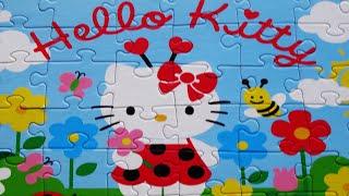 Puzzle For Kids HELLO KITTY Puzzle Games Jigsaw Rompecabezas De Puzzles Toys Clementoni Episodes