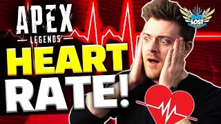 I played Apex Legends with a heart rate monitor