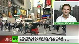 NYC bike video goes viral