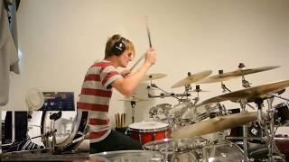 Nickelback - Animals [Drum Cover /w Foot Cam]