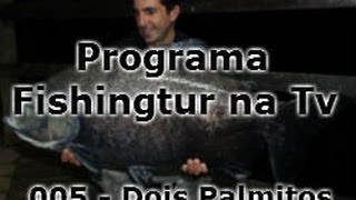 Hotel Fazenda Dois Palmitos - Programa Fishingtur na TV 005