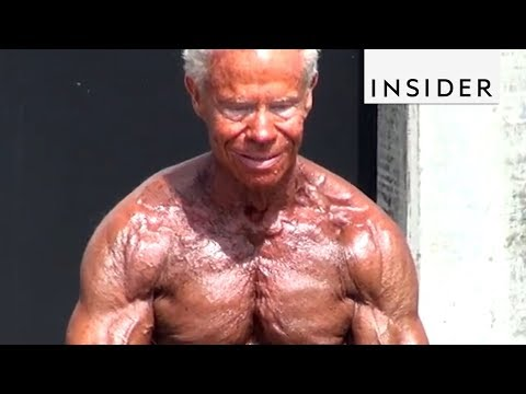 The World's Oldest Body Builder Will Put You to Shame