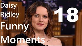 Daisy Ridley Funny Moments 18