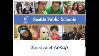 Aesop: A Substitute Management Service