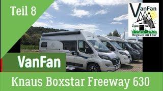 #9 Knaus Boxstar 630 Kastenwagen  Roomtour