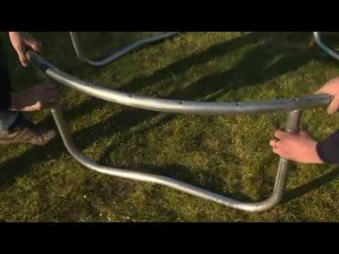Video Marimex 366 cm + ochranná síť + žebřík 2