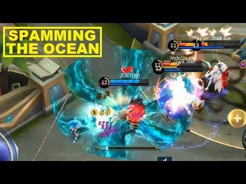 Kadita First MVP Full Gameplay With Fleeting Time Build - Mobile Legends (видео)