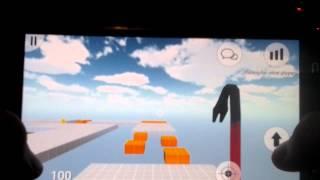 Death run portable floating glitch