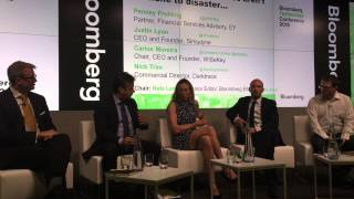 Carlos Moreira presenting at the Bloomberg Technology Conference: cybersecurity