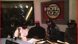 (Part 1) Slaughterhouse Funkmaster Flex Freestyle Hot 97 December 2011 ***Download Link***
