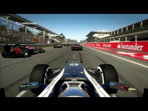 f1 2012 playstation 3 gameplay