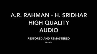 Bombay  Halla Gulla | High Quality Audio | A.R. Rahman