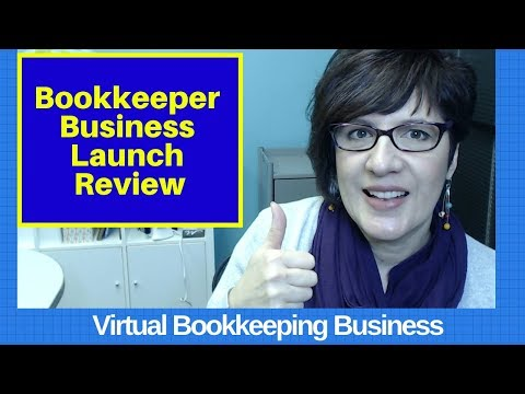 Bookkeeper Business Launch review - YouTube