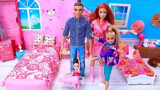 Barbie Doll Morning Family Routine For School - Best Videos Compilations