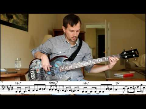 Motown Bass Line (James Jamerson) - What's Going On - Isolated Bass