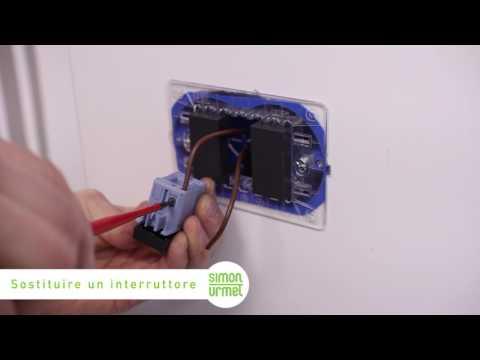 Come sostituire un interruttore della luce
