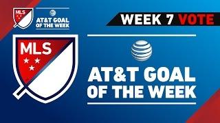 Top 8 MLS Goals   Vote for Week 7 AT&T Goal of the Week