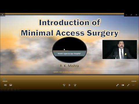 DR RK Mishra Live Stream- wprowadzenie do chirurgii mało inwazyjenej