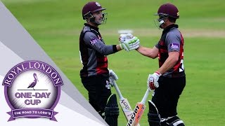 Star Van der Merwe Hits An Unbeaten 165 as Somerset Recovers to Beat Surrey - One Day Cup 2017